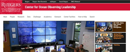 Rutgers University Center of Ocean Observing Leadership