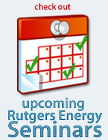 Upcoming Rutgers Energy Seminars
